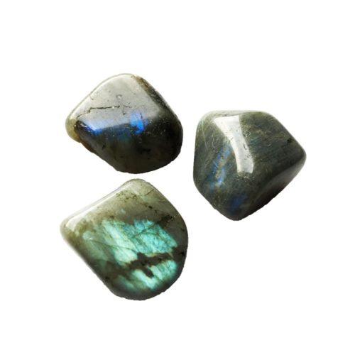 pierre roulée labradorite