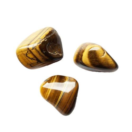 pierres roulées oeil de tigre