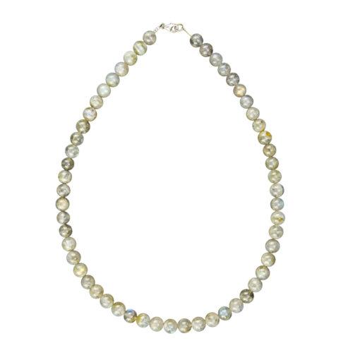 Labradorite Necklace - 8 mm Bead