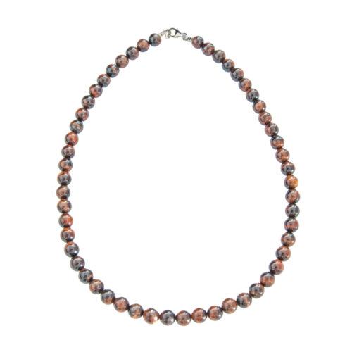 Bull's Eye Necklace - 8 mm Bead