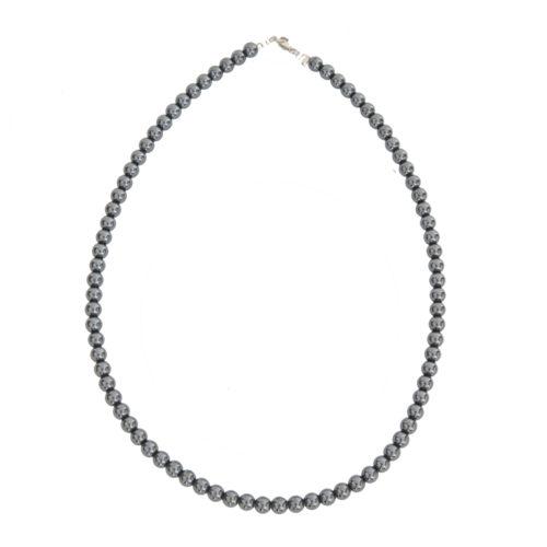 Haematite Necklace - 6 mm Bead