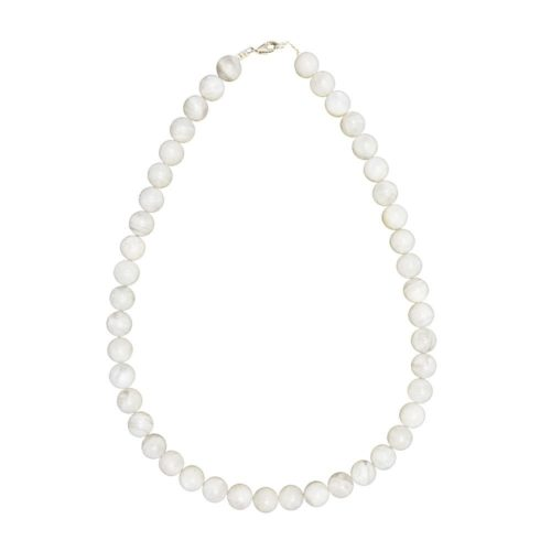 Moonstone Necklace - 10 mm Bead