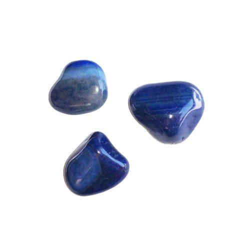 Blue Agate Tumbled Stone