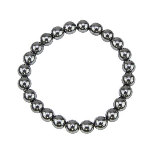 Haematite Bracelet - 8 mm Bead
