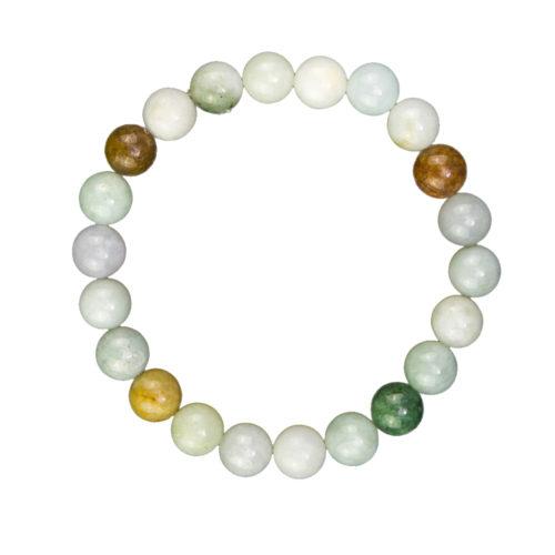 Burmese Jade Bracelet - 8 mm Bead