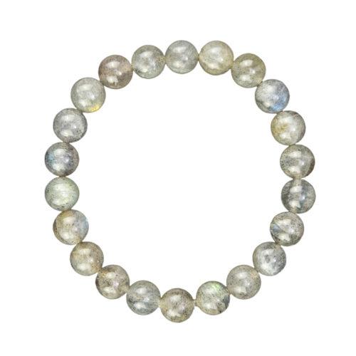 Labradorite Bracelet - 8 mm Bead