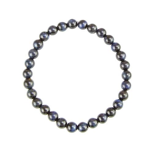 Falcon's Eye Bracelet - 6 mm Bead