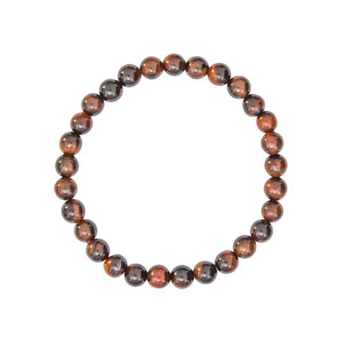 Bull's Eye Bracelet - 6 mm Bead