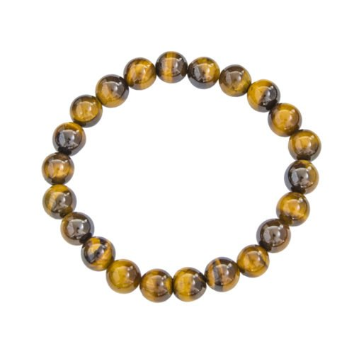 Tiger's Eye Bracelet - 8 mm Bead