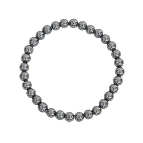 Haematite Bracelet - 6 mm Bead