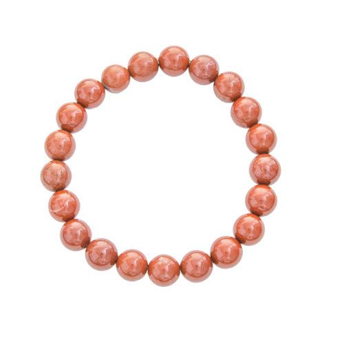 Red Jasper Bracelet - 8 mm Bead