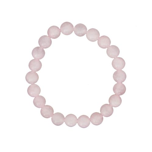 Rose Quartz Bracelet - 8 mm Bead