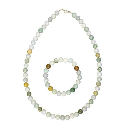 Green Jade Gift Set - 8 mm Bead