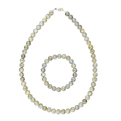 Labradorite Gift Set - 8 mm Bead