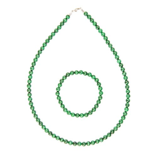Malachite Gift Set - 6 mm Bead