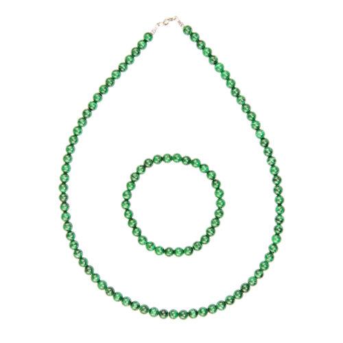 Malachite Gift Set - 6 mm Bead