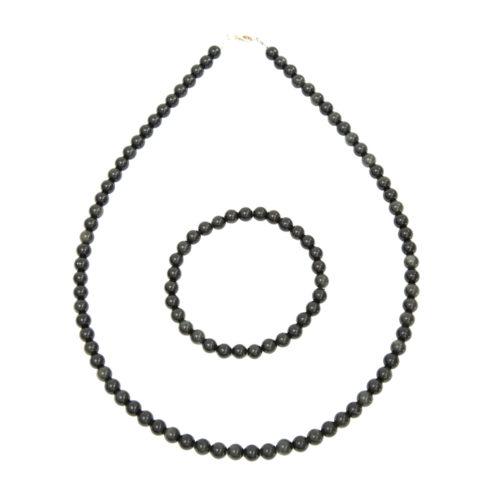 Black Obsidian Gift Set - 6 mm Bead