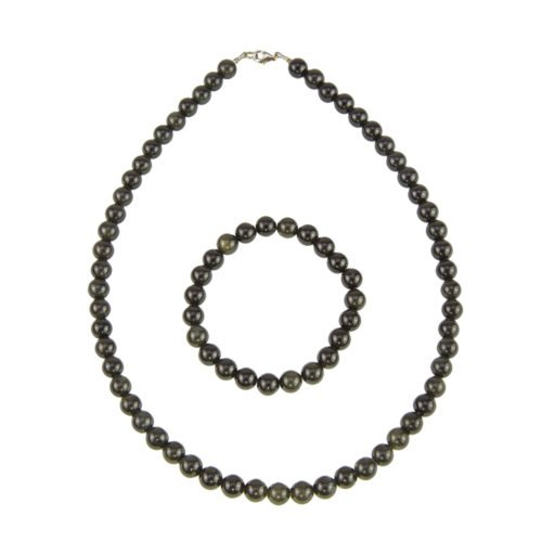 Black Obsidian Gift Set - 8 mm Bead