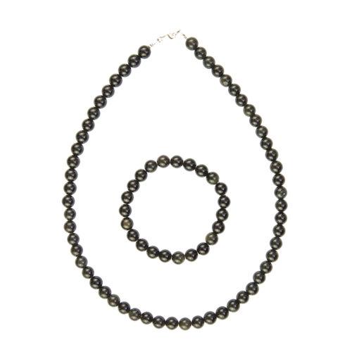 Black Obsidian Gift Set - 8 mm Bead