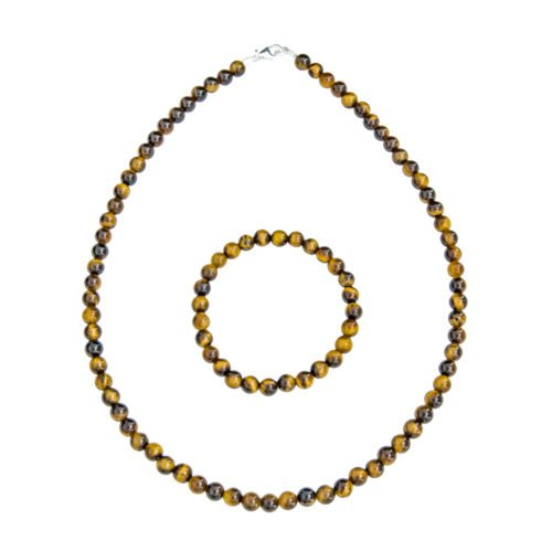 Tiger's Eye Gift Set - 6 mm Bead
