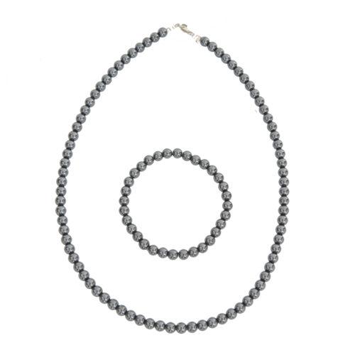Haematite Gift Set - 6 mm Bead