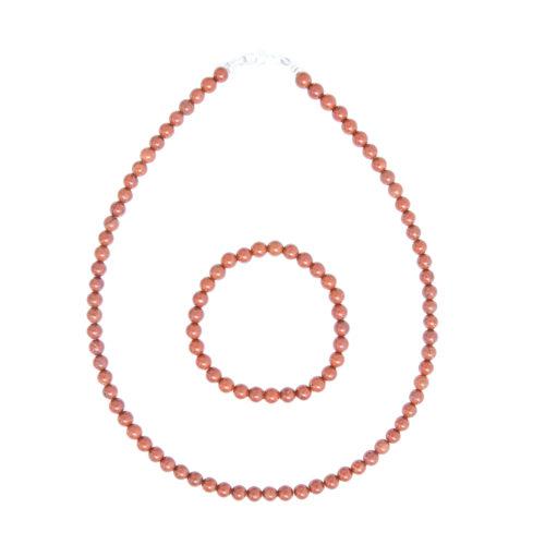 Red Jasper Gift Set - 6 mm Bead