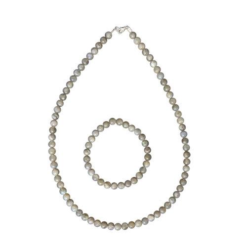Labradorite Gift Set - 6 mm Bead