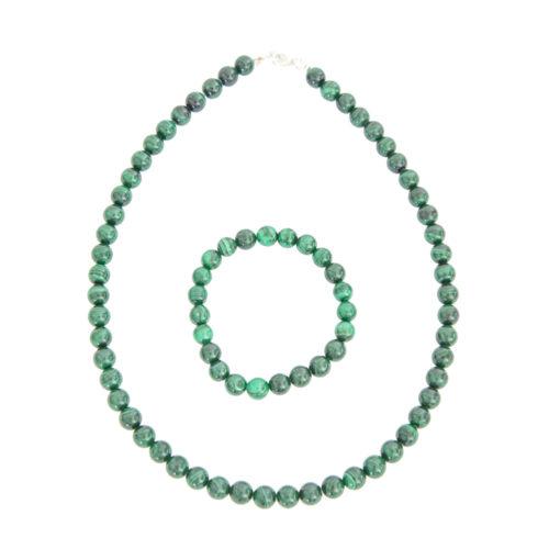 Malachite Gift Set - 8 mm Bead