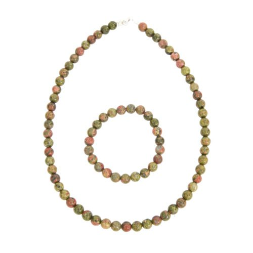 Unakite Gift Set - 8 mm Bead