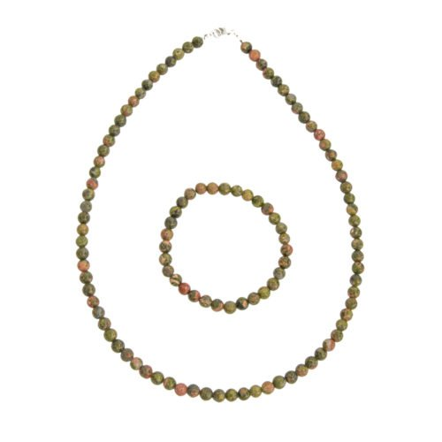Unakite Gift Set - 6 mm Bead