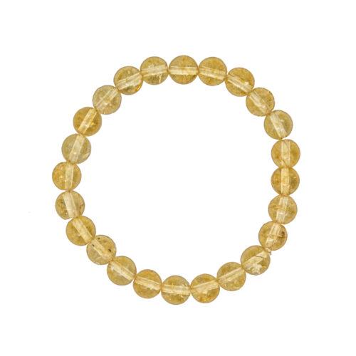 Citrine Bracelet - 8 mm Bead
