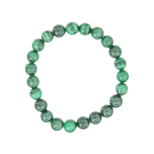 Malachite Bracelet - 8 mm Bead
