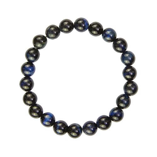 Falcon's Eye Bracelet - 8 mm Bead
