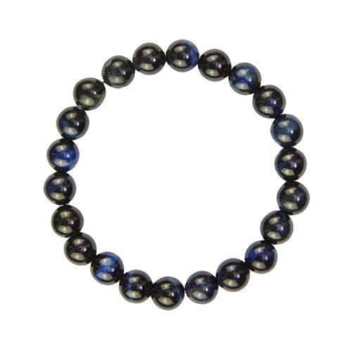 Falcon's Eye Bracelet - 8 mm Bead
