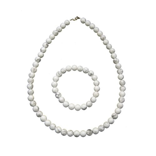 Howlite Gift Set - 8 mm Bead