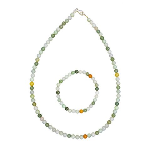 Green Jade Gift Set - 6 mm Bead