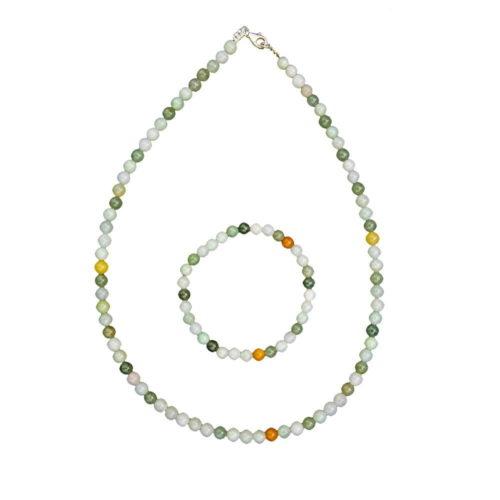 Green Jade Gift Set - 6 mm Bead