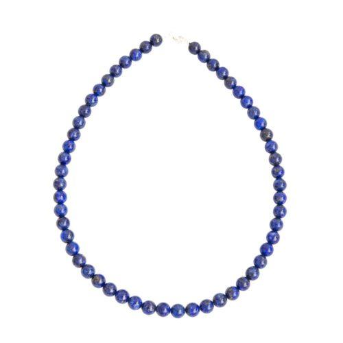 Lapis Lazuli Necklace - 8 mm Bead