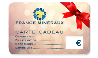 France Minerals Gift Card