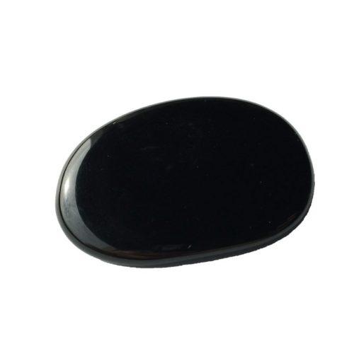 Black Agate Pebble