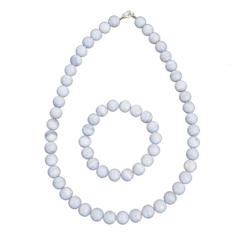 Chalcedony Gift Set - 10 mm Bead