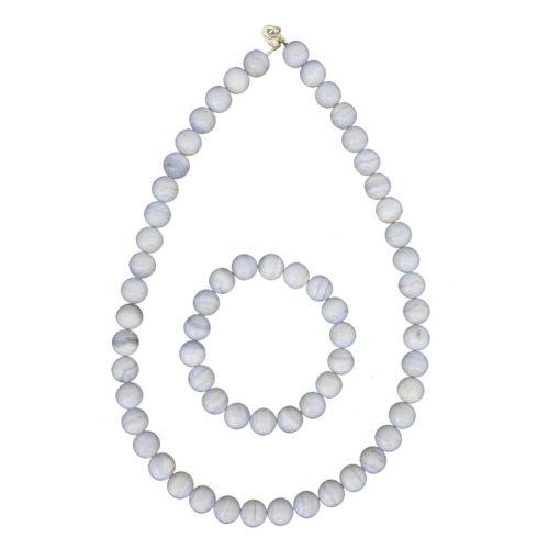 Chalcedony Gift Set - 10 mm Bead