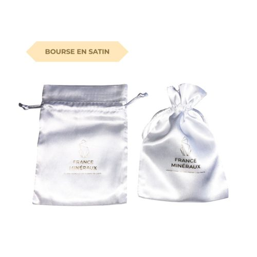 Minerals Kingdoms satin bag 110 155 mm