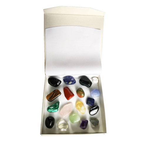 Gift Set of 18 Tumbled Stones