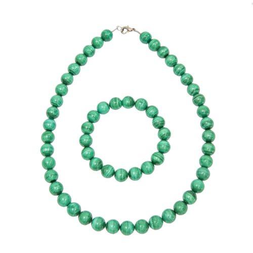 Malachite Gift Set - 10 mm Bead