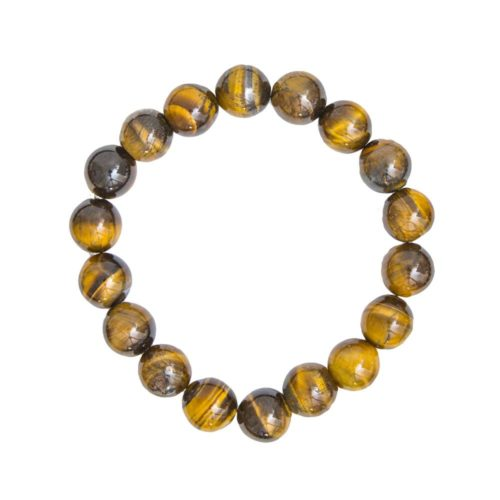 Tiger's Eye Bracelet - 10 mm Bead