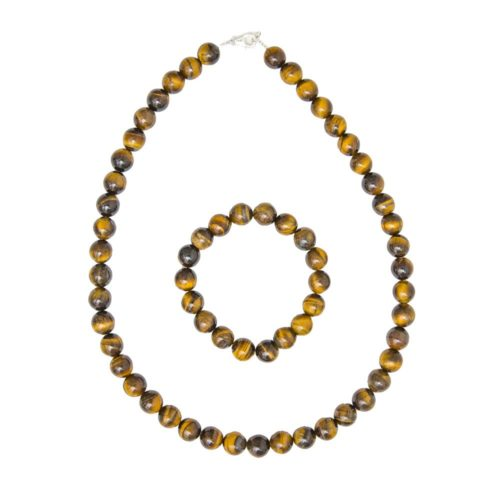 Tiger's Eye Gift Set - 10 mm Bead