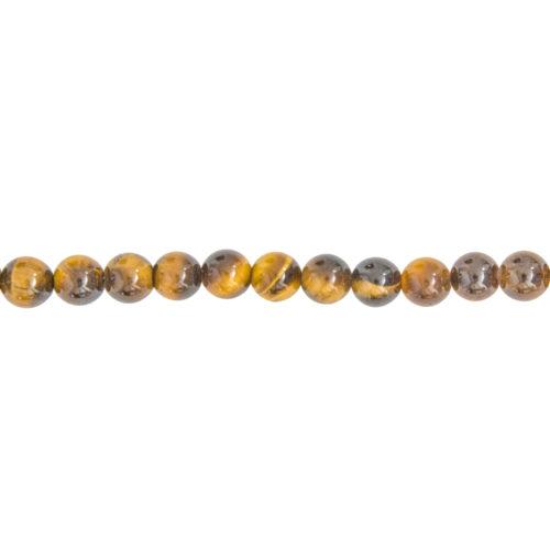 Tiger's Eye Line - 6 mm Bead