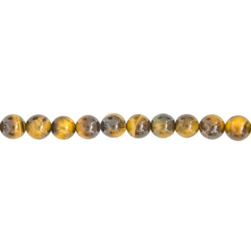 Tiger's Eye Line - 8 mm Bead