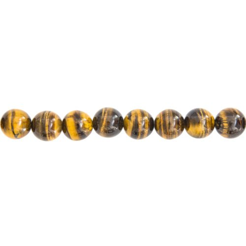 Tiger's Eye Line - 12 mm Bead